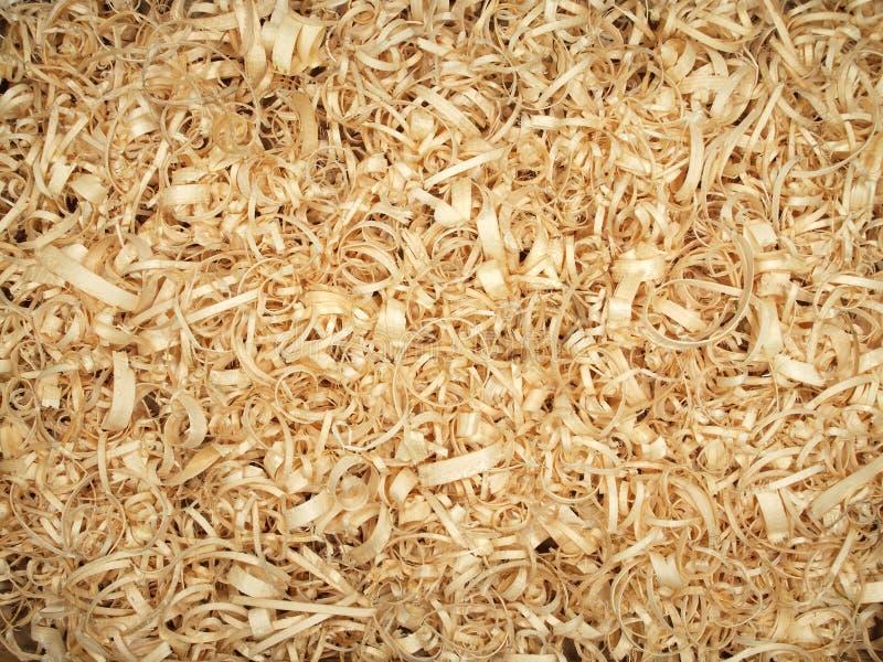 Copeaux en bois photographie stock libre de droits