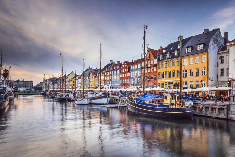 Copenhaga foto de stock royalty free