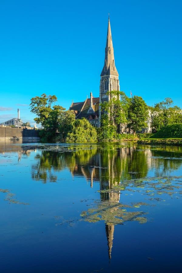 Copenhaga, Dinamarca fotos de stock royalty free