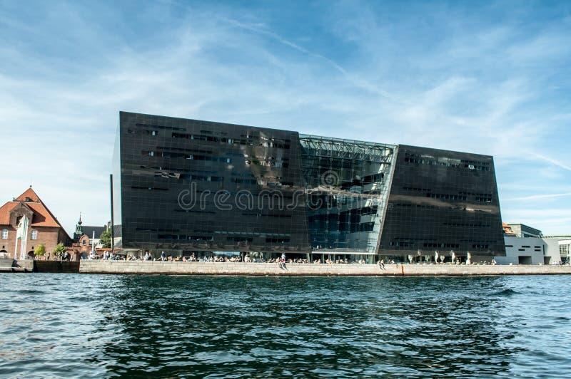 Copenhaga, Dinamarca - biblioteca fotografia de stock