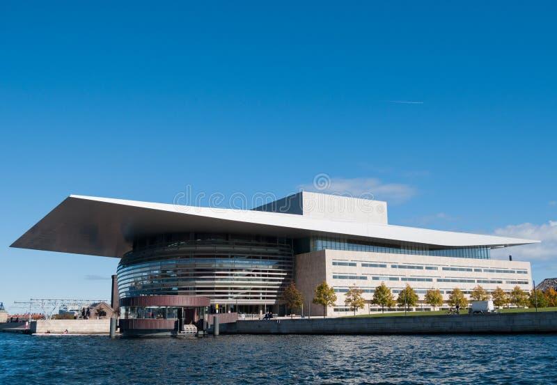 Copenhaga Opera foto de stock