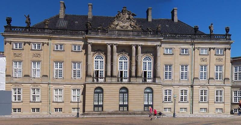Copenhagen amalienborg obrazy royalty free