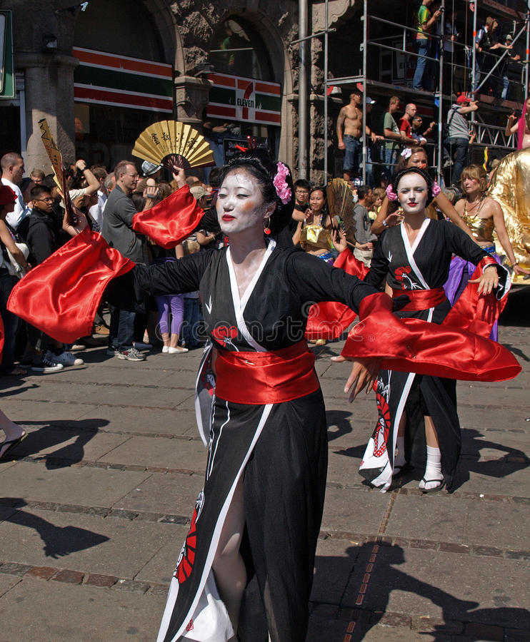 Download Copenhagen carnival editorial image. Image of parade, dancer - 9589480