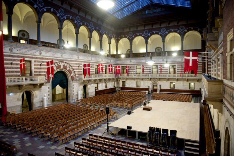 Copenhagen City Hall stock photos