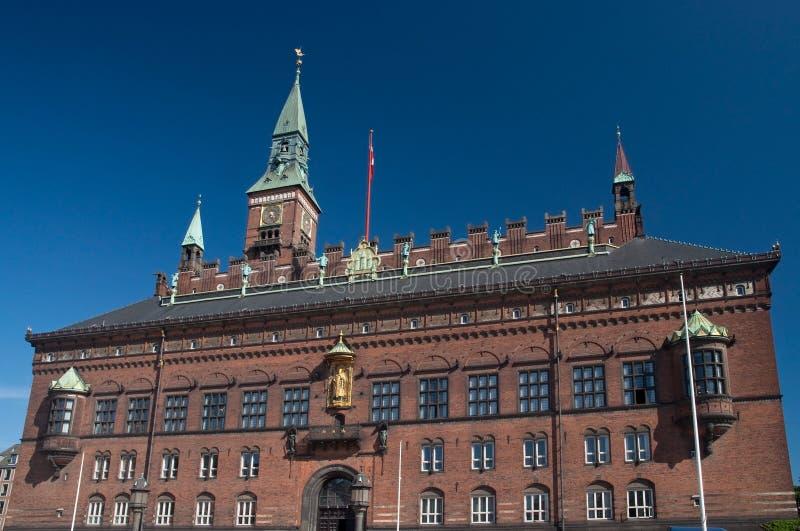 Copenhagen City Hall Royalty Free Stock Images