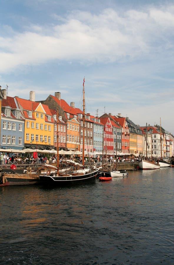 Download Copenhagen, Denmark stock image. Image of dwelling, boat - 1162283