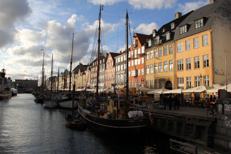 Copenhagen Denmark City Buildings. Copenhagen Denmark Danish Design Scandinavian Nyhavn Travel royalty free stock photos