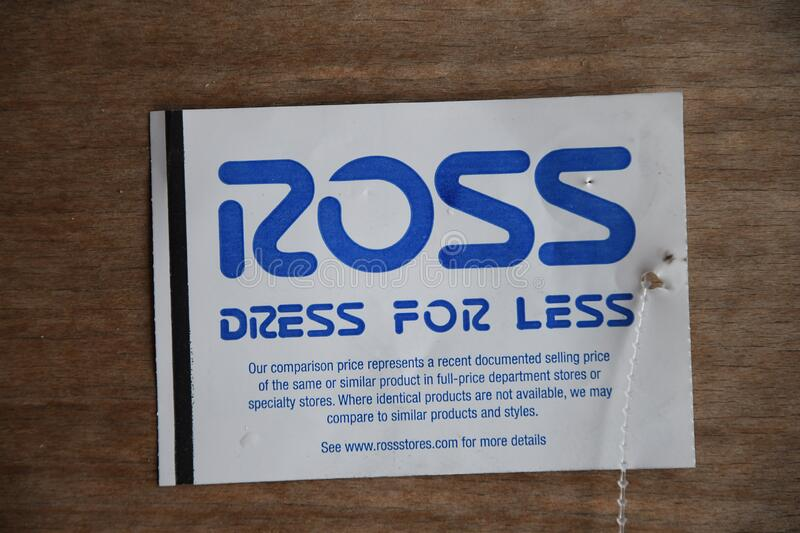 AMERICAN ROSS DRESS FOR LESS RETAIL  IN USA royalty free stock images