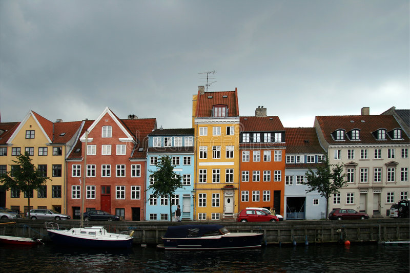 copenhagen Denmark kristianshavn zdjęcie royalty free