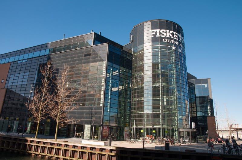 Fisketorvet shopping mall in city of Copenhagen royalty free stock images