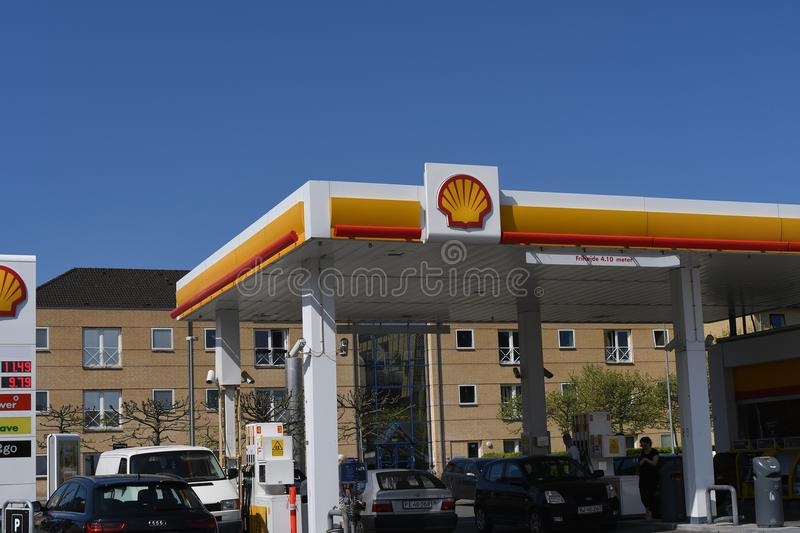 SHELL GASOLINE STATION editorial image  Image of petrol - 59673155