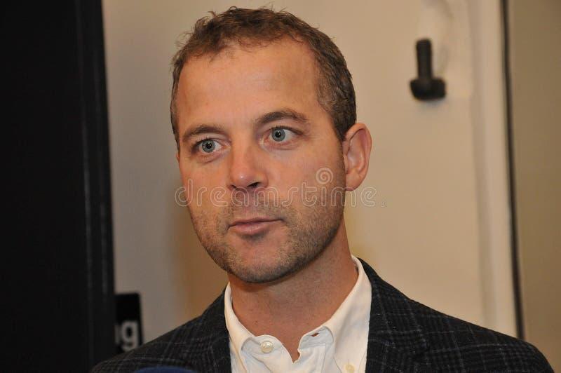 Danish Radikale ventre politics party spokeman and women royalty free stock images
