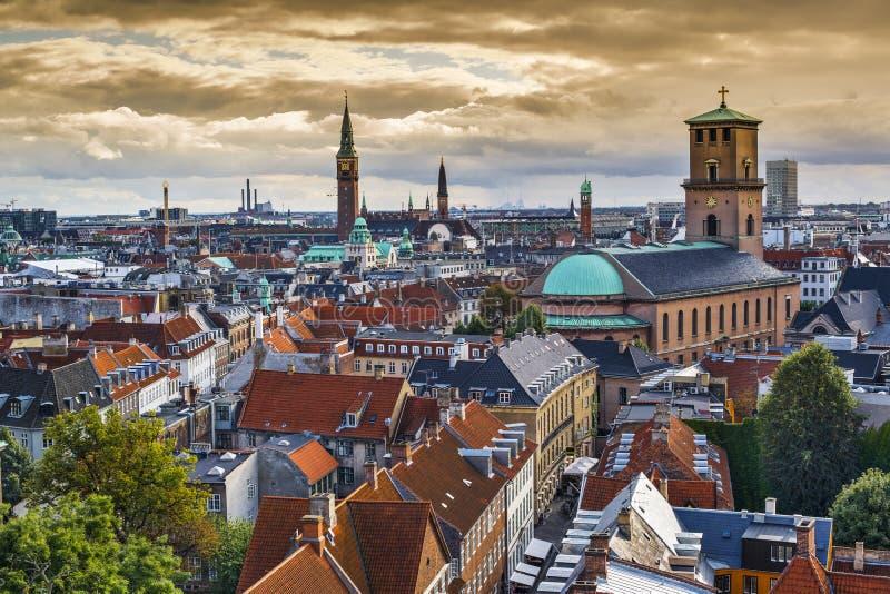 Download Copenhagen, Denmark Skyline Royalty Free Stock Image - Image: 36645926