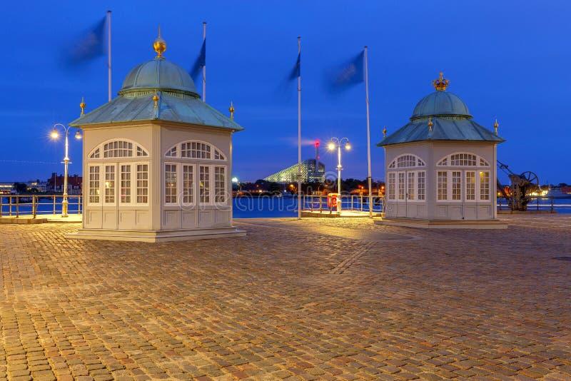 copenhagen Kungliga paviljonger royaltyfri fotografi