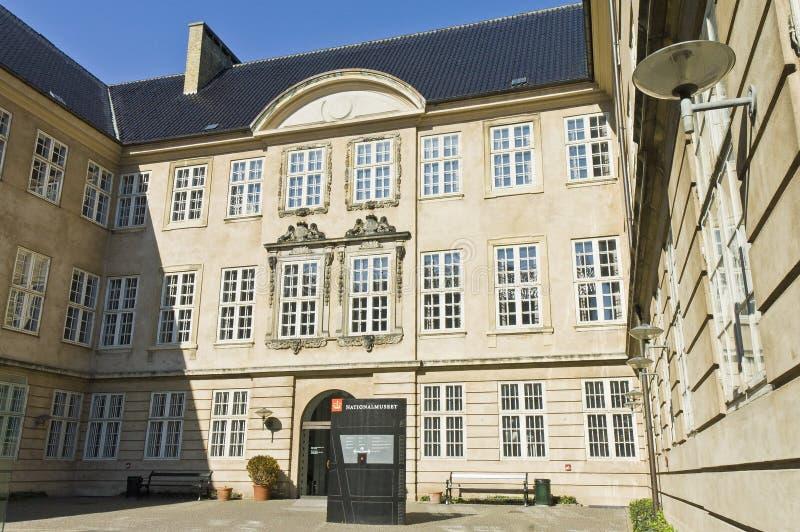 copenhagen museumnational royaltyfri bild