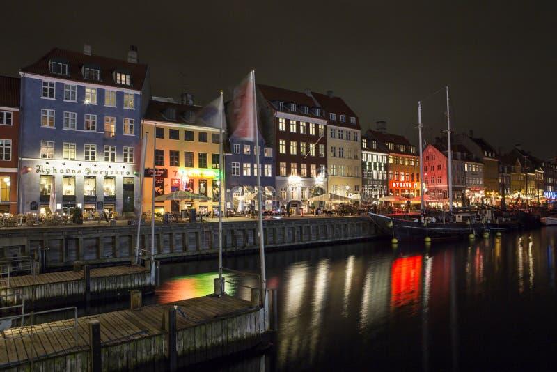 copenhagen nyhavn Denmark obraz stock