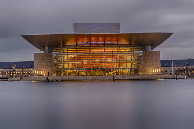 Copenhagen Opera House royalty free stock images