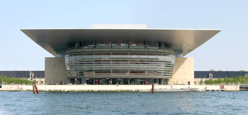 Download Copenhagen Opera House stock photo. Image of concrete - 6036066