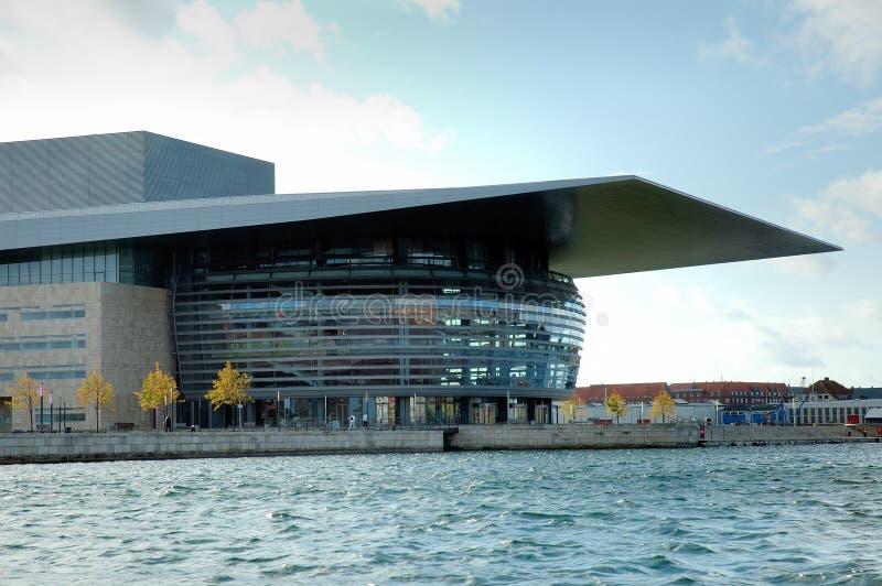 Copenhagen Opera house royalty free stock photos