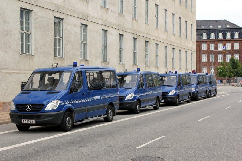 Download Copenhagen Police Vans editorial image. Image of caption - 19099615