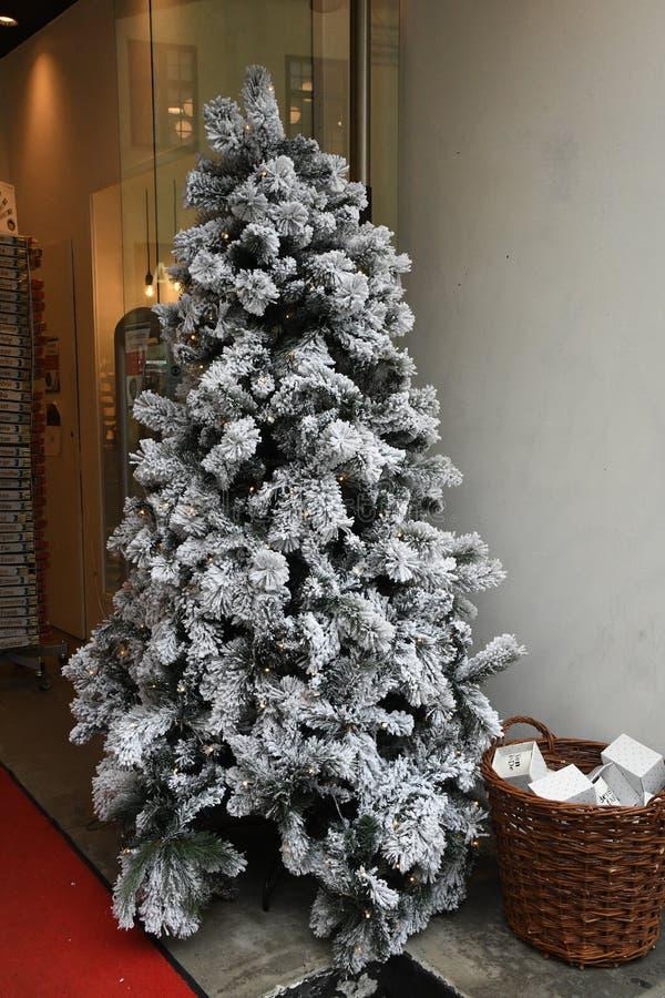 Copenhaghen/Danimarca 12 Novembre 2018 Oggetto di Vrius per i sants della decorazione di natale e l'albero di Natale e l'altro ge immagine stock