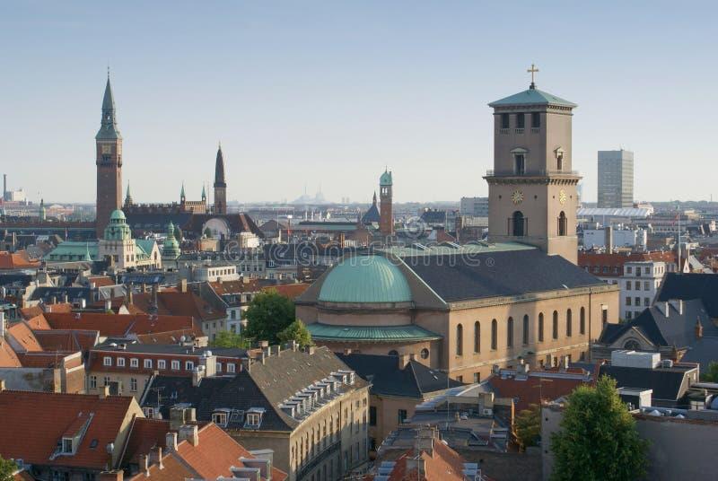 Copenhaghen - Vor Frue Kirke fotografia stock libera da diritti