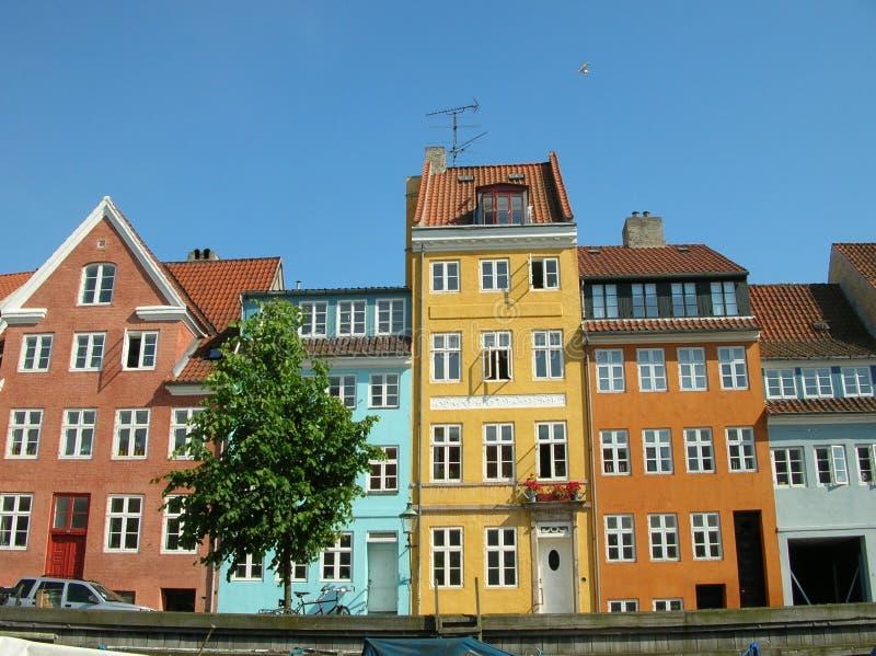 Copenhague, Christianshavn photo libre de droits