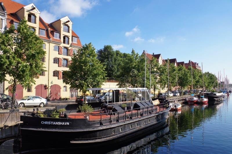 Copenhague Christianshavn image libre de droits