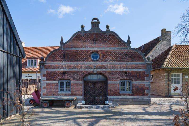 COPENHAGUE, DANEMARK - 30 AVRIL 2017 : Chambre dans le jardin du ` s de roi photographie stock