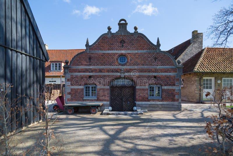 COPENHAGUE, DANEMARK - 30 AVRIL 2017 : Chambre dans le jardin du ` s de roi photos stock