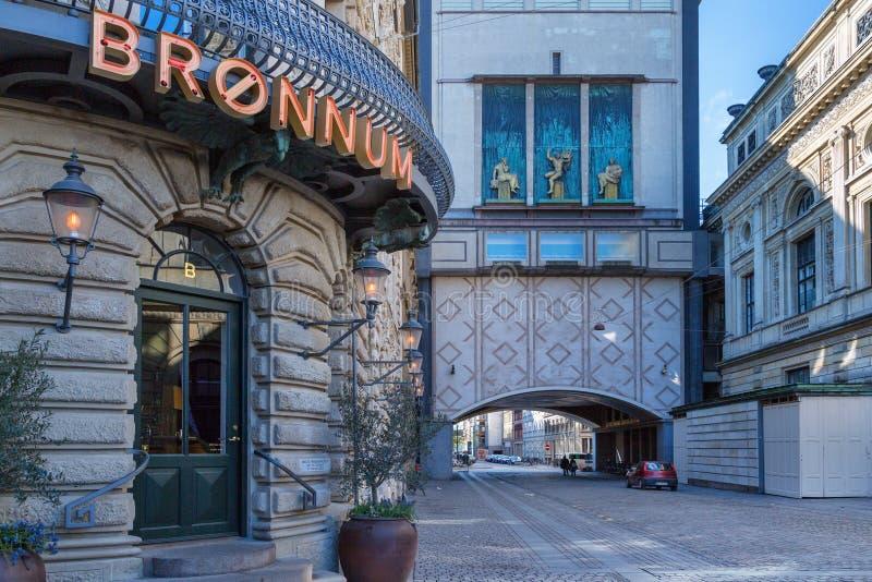 Copenhague, Danemark - 30 avril 2017 : La Chambre de Bronnum est une énumérée photographie stock