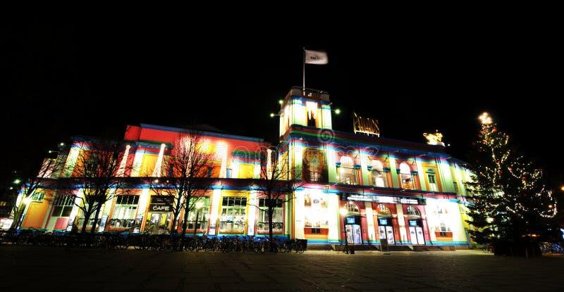 Copenhague en la Navidad imagen de archivo libre de regalías
