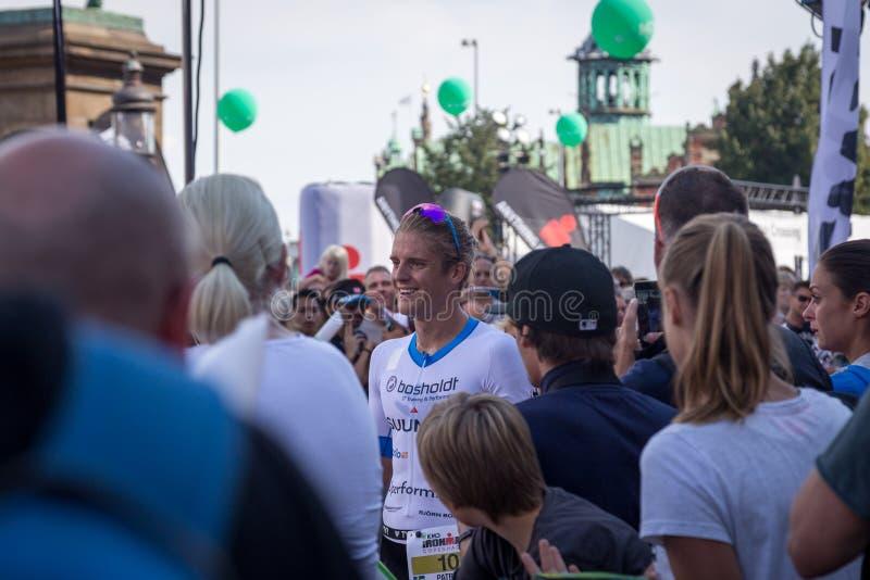 Copenhague Ironman 2016, Danemark photos libres de droits
