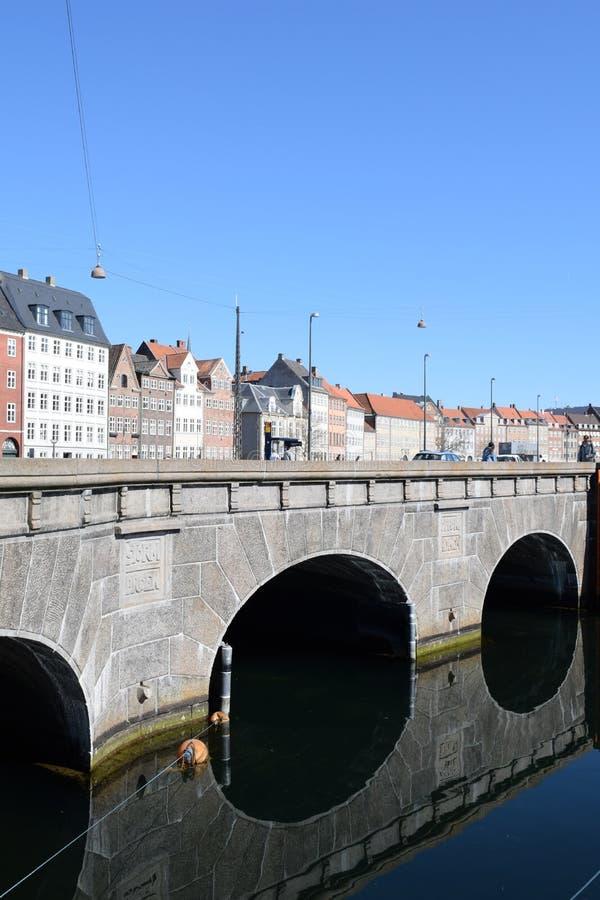 Copenhaguen city Denmark stock photography