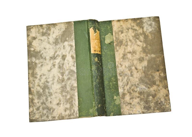 Coperchi di vecchio libro aperto immagini stock libere da diritti