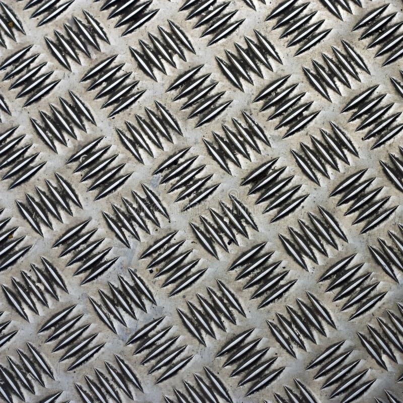 Coperchio d'acciaio impresso fotografie stock