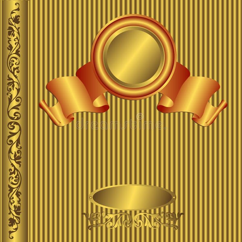 Coperchio dell'album di foto dell'annata illustrazione vettoriale