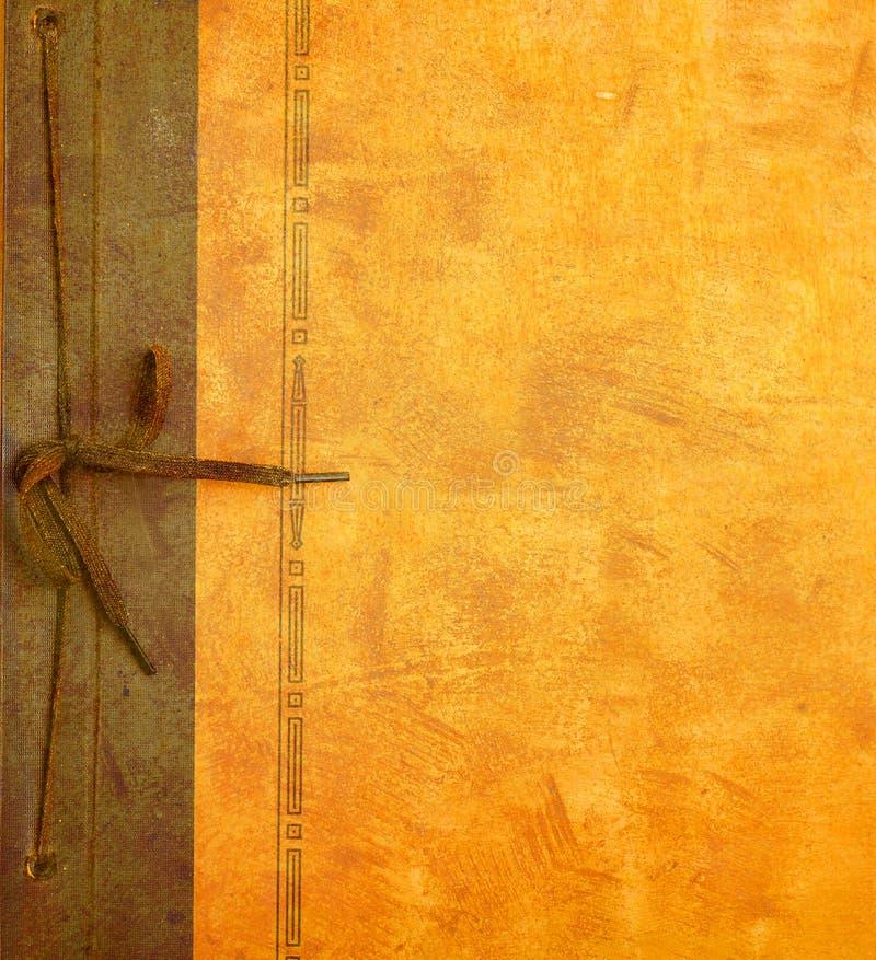 Coperchio dell'album di foto dell'annata fotografia stock