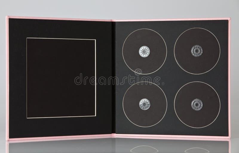 Coperchio di DVD fotografia stock libera da diritti