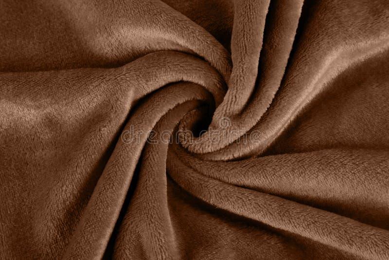Coperta pelosa dell'animale domestico caldo di inverno fotografia stock