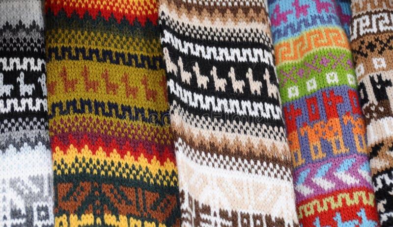 Coperte del Inca fotografia stock