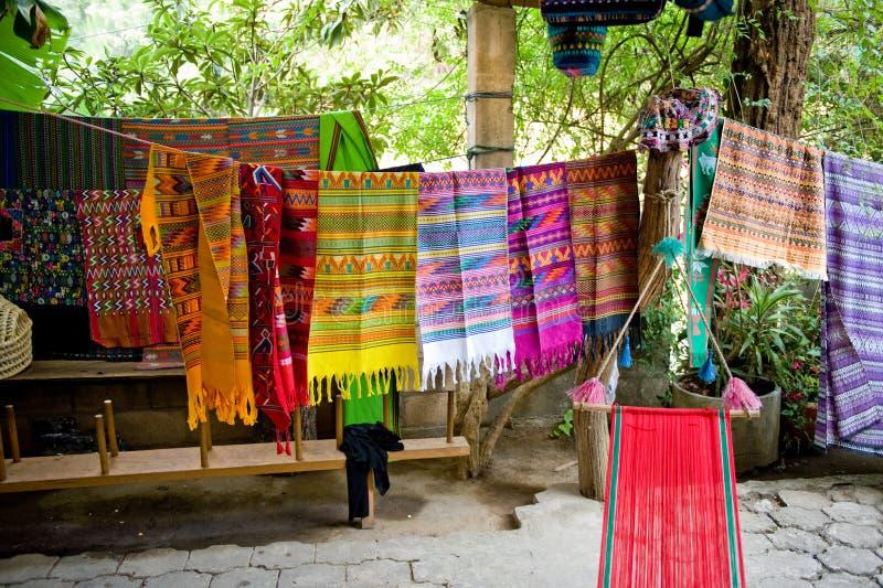 Coperte sudamericane variopinte fotografia stock