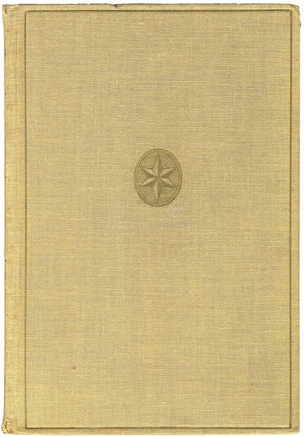 Copertina di libro antica illustrazione di stock