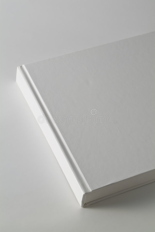 Copertina di libro bianco immagine stock libera da diritti