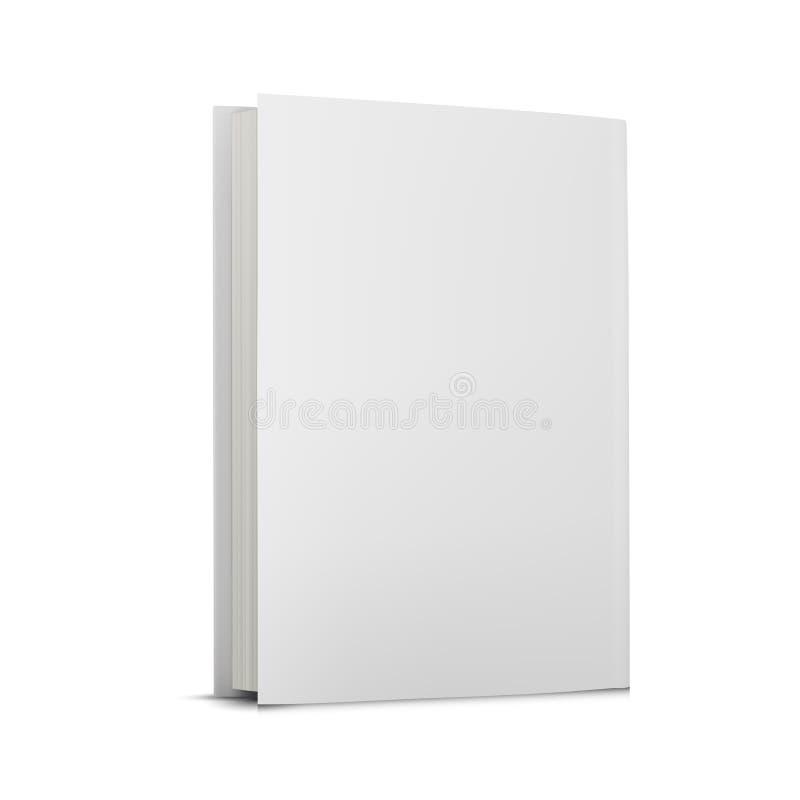 Copertina di libro in bianco più royalty illustrazione gratis