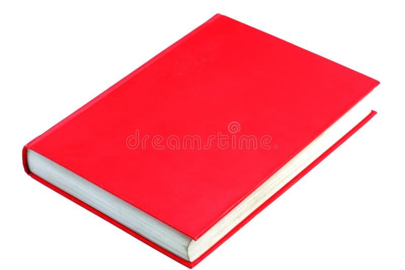 Copertina di libro in bianco posteriore dura fotografia stock libera da diritti