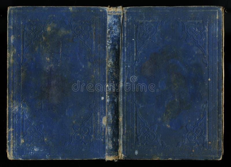Copertina di libro d'annata antica del giornale del diario fotografia stock libera da diritti