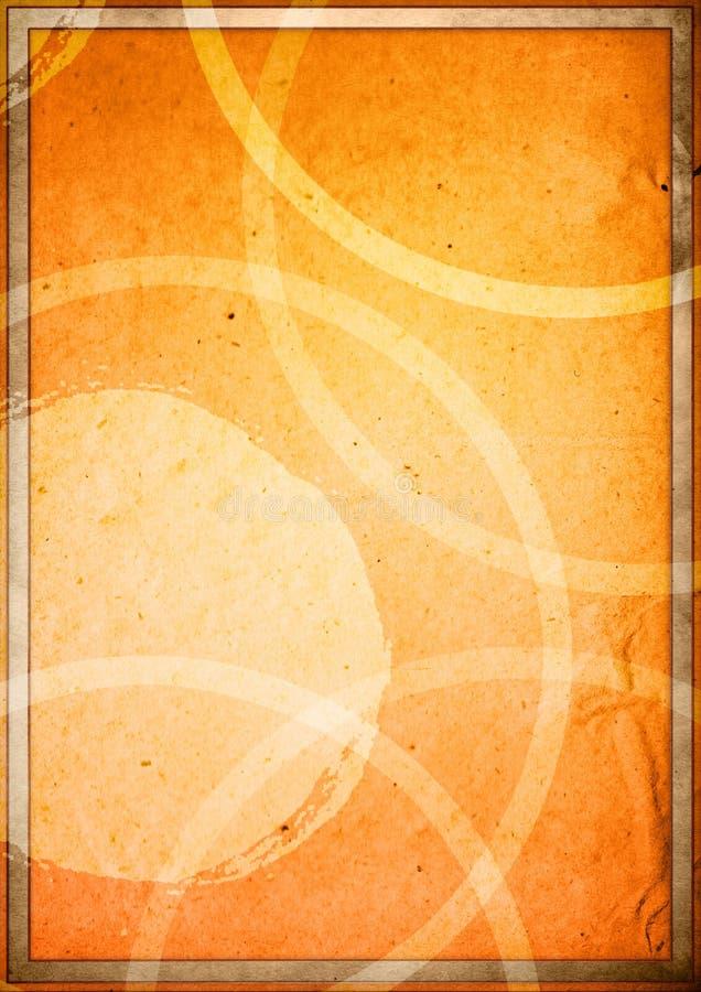 Copertina di libro degli ambiti di provenienza illustrazione di stock
