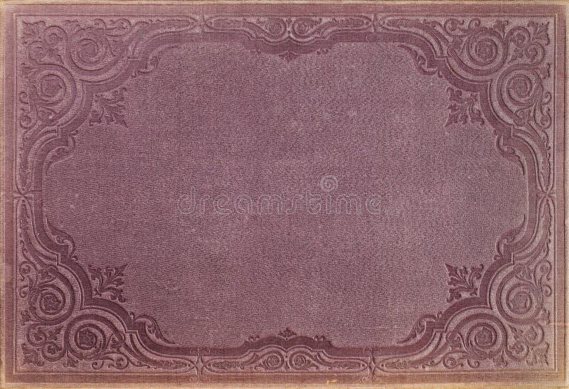 Copertina di libro dell'annata fotografie stock libere da diritti