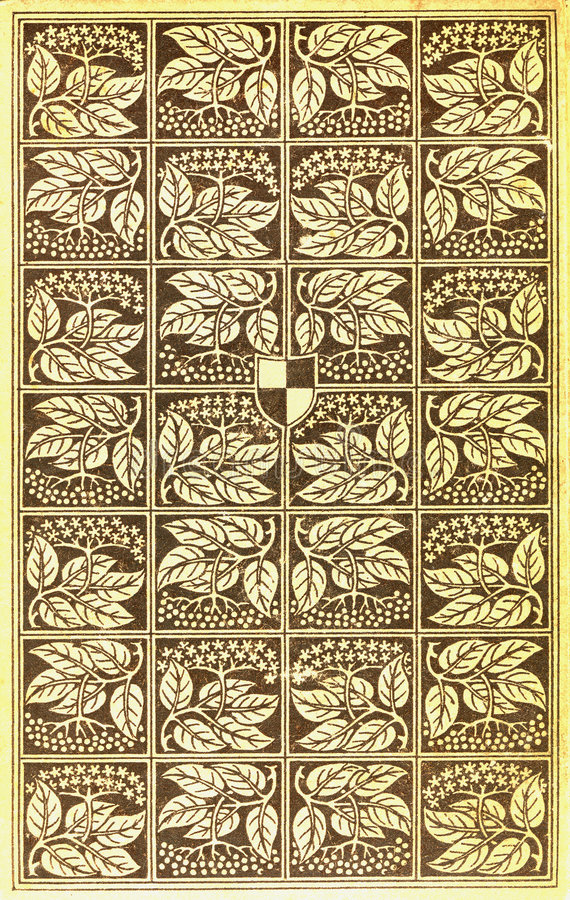 Copertina di libro dell'annata royalty illustrazione gratis